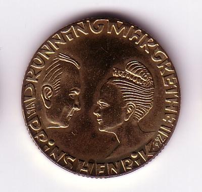 20 kr jubilæumsmønt
